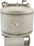 Explorers:Space Exploration, Apollo Command Module Environmental Control System Hardware: Potable Water Tank, AiResearch Part 812300 (Contract NAS-9-150)....