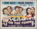 """Movie Posters:Musical, On the Town (MGM, 1949). Half Sheet (22"""" X 28"""") Style B. Musical.. ..."""