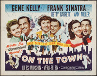 "On the Town (MGM, 1949). Half Sheet (22"" X 28"") Style B. Musical"