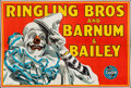 "Movie Posters:Miscellaneous, Ringling Bros. and Barnum & Bailey Circus Poster (1945). EightSheet (80"" X 128""). Miscellaneous.. ..."