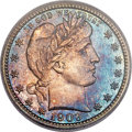 Proof Barber Quarters, 1903 25C PR67 PCGS....