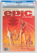 Magazines:Science-Fiction, Epic Illustrated #3 (Marvel, 1980) CGC NM+ 9.6 White pages....