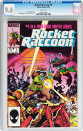 Modern Age (1980-Present):Humor, Rocket Raccoon #1 (Marvel, 1985) CGC NM+ 9.6 White pages....
