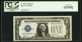 Small Size:Silver Certificates, Fr. 1605 $1 1928E Silver Certificate. PCGS Choice New 63PPQ.. ...