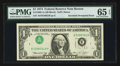 Error Notes:Inverted Third Printings, Fr. 1908-A $1 1974 Federal Reserve Note. PMG Gem Uncirculated 65 EPQ.. ...
