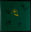 Football Collectibles:Others, 1988 Green Bay Packers Offensive Playbook Signed by Majkowski, Noble, Anderson and Jacke....