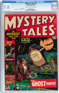 Golden Age (1938-1955):Horror, Mystery Tales #7 (Atlas, 1953) CGC FN/VF 7.0 Cream to off-whitepages....