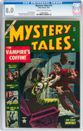 Golden Age (1938-1955):Horror, Mystery Tales #15 (Atlas, 1953) CGC VF 8.0 Cream to off-whitepages....