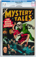 Golden Age (1938-1955):Horror, Mystery Tales #17 (Atlas, 1954) CGC VF- 7.5 Cream to off-whitepages....