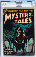 Golden Age (1938-1955):Horror, Mystery Tales #19 (Atlas, 1954) CGC FN- 5.5 Cream to off-whitepages....