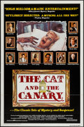 """Movie Posters:Horror, The Cat and the Canary & Others Lot (Columbia, 1979). One Sheets (6) (27"""" X 41"""") Flat Folded & Regular. Horror.. ... (Total: 6 Items)"""