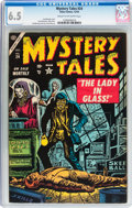 Golden Age (1938-1955):Horror, Mystery Tales #24 (Atlas, 1954) CGC FN+ 6.5 Cream to off-whitepages....
