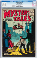 Golden Age (1938-1955):Horror, Mystery Tales #27 (Atlas, 1955) CGC VG/FN 5.0 Cream to off-whitepages....