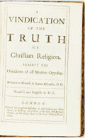 Books:Religion & Theology, Abbadie, Jacques. A Vindication Of The Truth of Christian Religion, Against the Objections of All Modern Opposers. L...