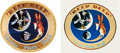 "Explorers:Space Exploration, Apollo 14 ""Beep Beep"" Backup Crew Embroidered Mission InsigniaPatch, with Matching Sticker. ..."