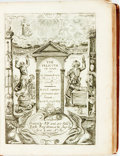 Books:Philosophy, [Featured Lot] Barckley, Sir Richard. The Felicitie of Man: OrHis Summum bonum London: R. Y[oung] for Rich[ard] Ro...