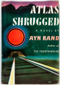 Books:Literature 1900-up, [Featured Lot] Ayn Rand. Atlas Shrugged. New York: RandomHouse, [1957]. First edition. Publisher's cloth and origin...