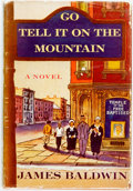 Books:Literature 1900-up, James Baldwin. Go Tell It on the Mountain. New York: Knopf,1953. First edition. Publisher's cloth and original dust...
