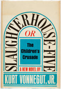 Books:Literature 1900-up, Kurt Vonnegut. Slaughterhouse Five or The Children'sCrusade. Seymour Lawrence/Delacorte Press, [1969]. Firsteditio...