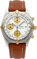 Timepieces:Wristwatch, Breitling Ref. 81950 A, Steel & Gold Chronomat Automatic, circa1994. ...