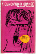 Books:Literature 1900-up, [Featured Lot] Anthony Burgess. A Clockwork Orange. London:Heinemann, [1962]. First edition. Publisher's black clot...
