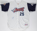 Baseball Collectibles:Uniforms, Troy Glaus Signed Angels Jersey....