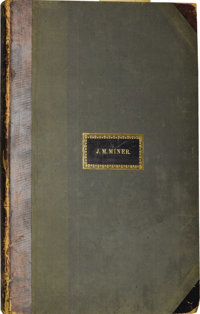 """Frank Leslie's Pictorial History of the American War, Volume One. This 400 page volume measuring 16.5"""" x 23"""" i..."""
