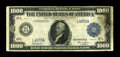 Large Size:Federal Reserve Notes, Fr. 1133-L $1000 1918 Federal Reserve Note Fine. If you are looking for a type note for this design, then this is a good can...