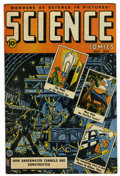 Golden Age (1938-1955):Science Fiction, Science Comics #3 (Ace, 1946) Condition: VF+. Rudy Palais cover.Palais and Al Feldstein art. Overstreet 2006 VF 8.0 value =...