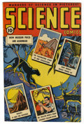 "Golden Age (1938-1955):Non-Fiction, Science Comics #2 Davis Crippen (""D"" Copy) pedigree (Ace, 1946)Condition: VF. Overstreet 2006 VF 8.0 value = $60. Fromth..."