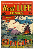 "Golden Age (1938-1955):Non-Fiction, Real Life Comics #25 Davis Crippen (""D"" Copy) pedigree (NedorPublications, 1945) Condition: VF. Overstreet 2006 VF 8.0 valu..."