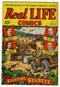 "Golden Age (1938-1955):Non-Fiction, Real Life Comics #19 Davis Crippen (""D"" Copy) pedigree (NedorPublications, 1944) Condition: VF+. Overstreet 2006 VF 8.0 val..."