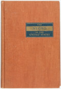 Books:Americana & American History, E. Franklin Frazier. The Negro in the United States. NewYork: Macmillan, 1949. First edition. Original cloth bindin...