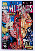 Modern Age (1980-Present):Superhero, The New Mutants #98 (Marvel, 1991) Condition: VF/NM....