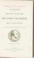 Books:Biography & Memoir, Captain M'Clintock. A Narrative of the Discovery of the Fate of Sir John Franklin and His Companions. Boston: Tickno...