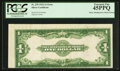 Error Notes:Large Size Errors, Fr. 239 $1 1923 Silver Certificate PCGS Extremely Fine 45PPQ.. ...
