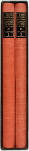 Books:Literature Pre-1900, [Limited Editions Club]. T.M. Cleland, designer. SIGNED/LIMITED.Giovanni Boccaccio. The Decameron. New York: The Li...(Total: 2 Items)
