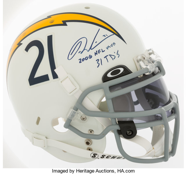 brand new 98853 afad9 LaDainian Tomlinson Signed San Diego Chargers Full Size ...