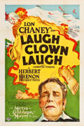 "Movie Posters:Drama, Laugh, Clown, Laugh (MGM, 1928). One Sheet (27"" X 41"").. ..."