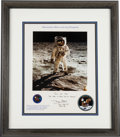 "Autographs:Celebrities, Buzz Aldrin Signed Limited Edition ""Astronaut Buzz Aldrin on the Sea of Tranquility"" Color Photo Print, #51/75. ..."