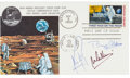 "Autographs:Celebrities, Apollo 11 Crew-Signed ""First Man on the Moon"" First Day Cover...."