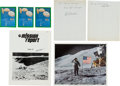 Autographs:Celebrities, Apollo 15 Collection of Signed Items....