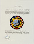 Explorers:Space Exploration, Apollo 1 Embroidered Crew Patch Originally from the Collection ofGordon Cooper....