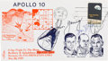 Explorers:Space Exploration, Apollo 10 Splashdown Cover Signed by Stafford and Cernan....