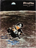 Explorers:Space Exploration, Buzz Aldrin Signed Goodyear Aerospace Profile Special Space Issue, Originally from His Personal Collection....
