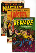 Golden Age (1938-1955):Horror, Horror and Mystery - Golden/Silver Age Group (Various, 1953-64).... (Total: 15 Comic Books)
