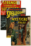 Silver Age (1956-1969):Horror, Atlas Comics - Horror Group (Atlas, 1956-58) .... (Total: 5 ComicBooks)