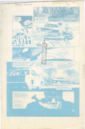 Original Comic Art:Miscellaneous, David Mazzucchelli - Batman: Year One, Chapter One, page 17 Blueline Production Art (DC, 1987)....