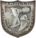 Explorers:Space Exploration, Apollo 10 Flown Silver Robbins Medallion Originally from thePersonal Collection of Mission Command Module Pilot John Young,S...