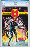 Modern Age (1980-Present):Superhero, Miracleman #1 Don/Maggie Thompson Collection pedigree (Eclipse,1985) CGC NM/MT 9.8 White pages....